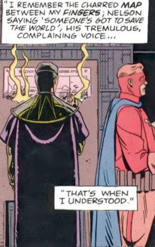 Captain Metropolis of the Minutemen (Alan Moore's Watchmen comics) and Ozymandias