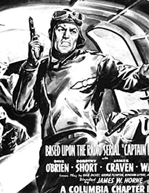 Captain Midnight B&W poster
