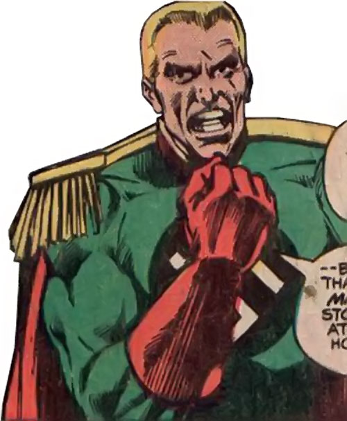 Captain Nazi (Captain Marvel enemy) (1970s DC Comics) portrait