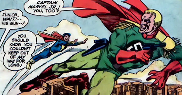 Captain Nazi vs. Captain Marvel, Jr.