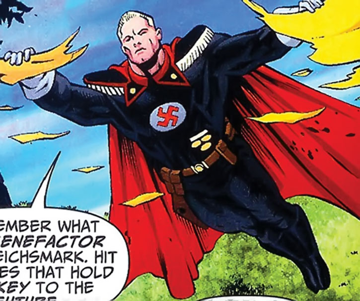 Captain Nazi as seen in JSA