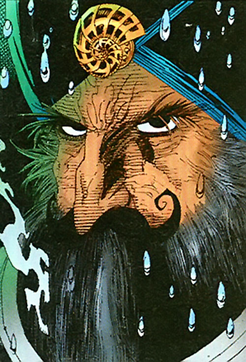 Captain Nemo (League of Extraordinary Gentlemen) face closeup