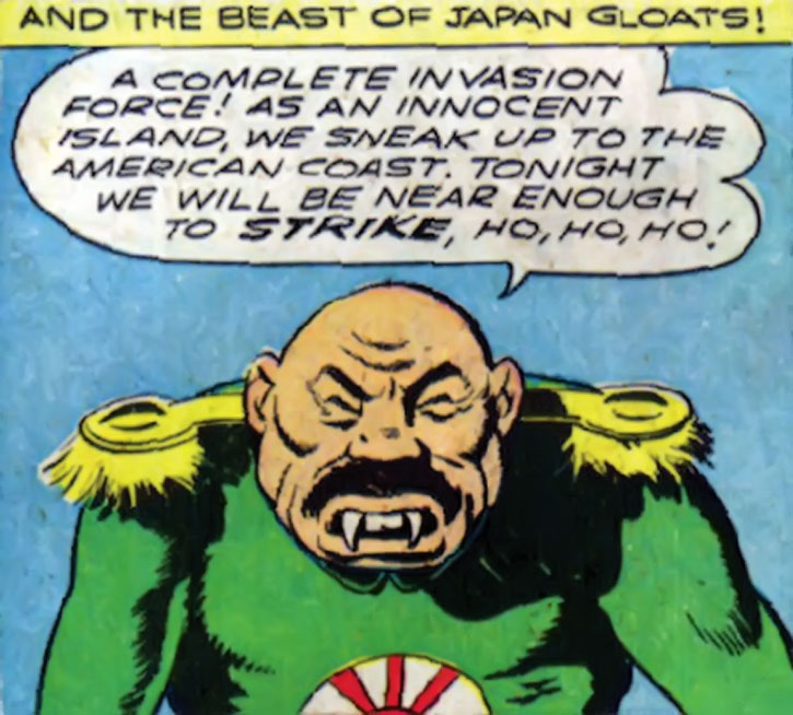 Captain Nippon narrates his plan