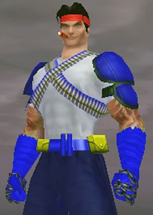 Captain Sweden (City of Heroes model)
