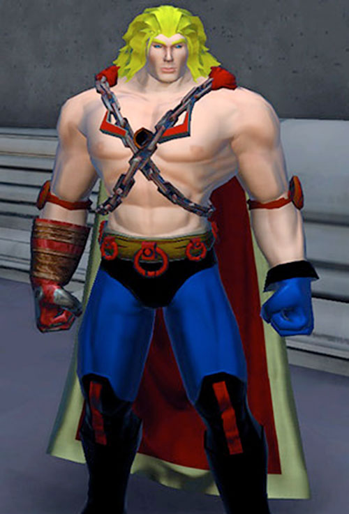 Captain Thunder (DC Heroes RPG)