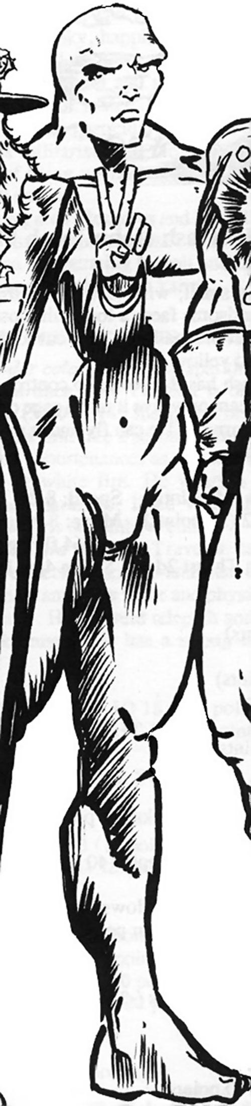 Aquarius form of Captain Trips (Wild Cards novels)