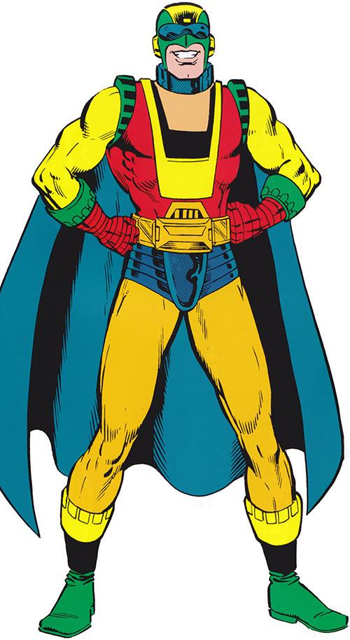 Captain Ultra (Marvel Comics) classic costume
