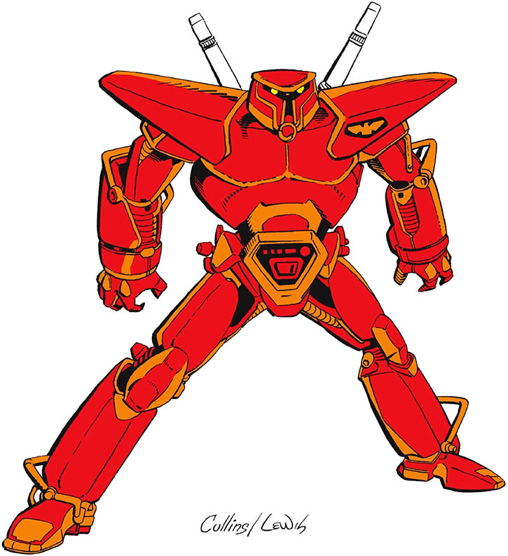 Carapax's power armour suit