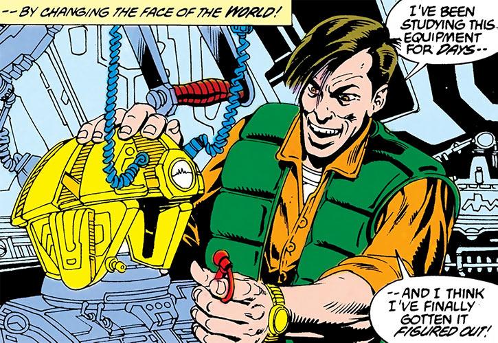 Carapax - DC Comics - Blue Beetle enemy - Human form