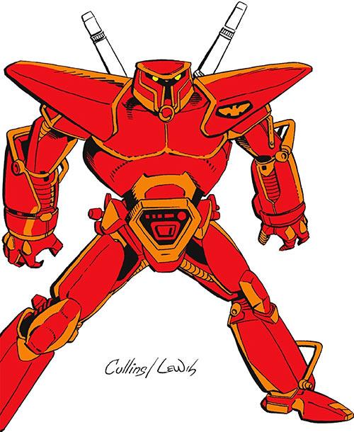 Carapax the indestructible Man (Blue Beetle enemy) (DC Comics)