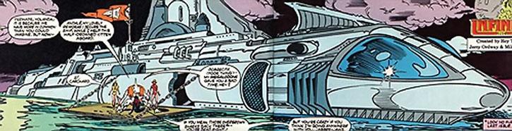 Carcharo's submarine