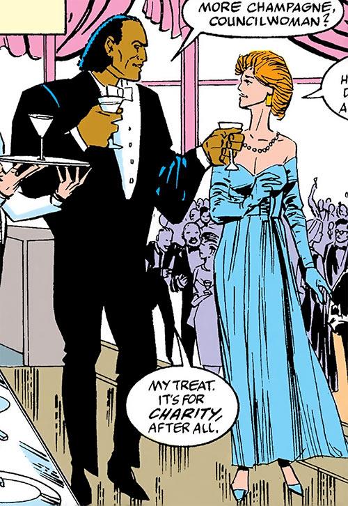 Cardiac (Marvel Comics) (Spider-Man character) in a tuxedo