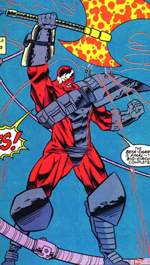 Cardiaxe (Cardiac enemy) (Marvel Comics)