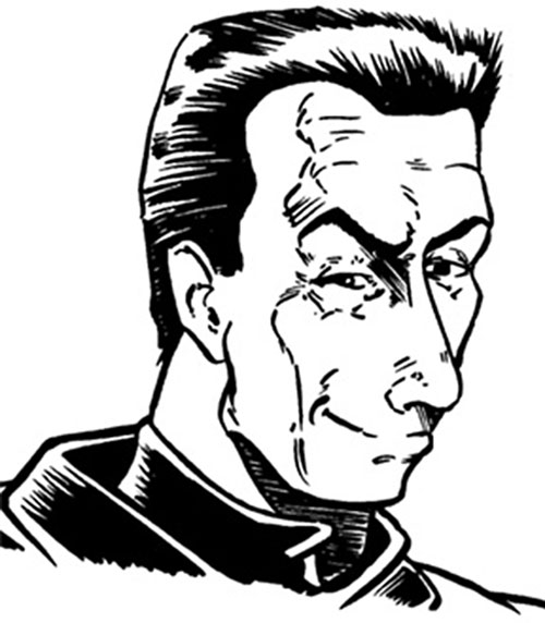 Carnifex from the Wild Cards novels (GURPS illustration)