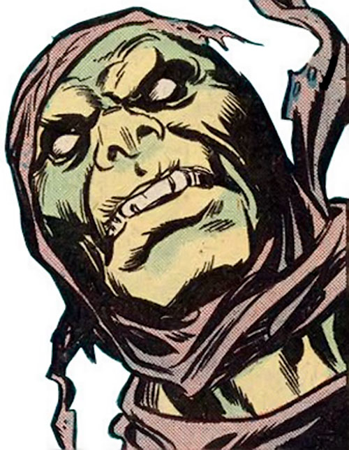 Carrion (Marvel Comics) face closeup
