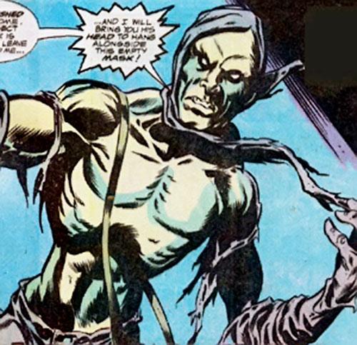 Carrion (Marvel Comics) looking creepy