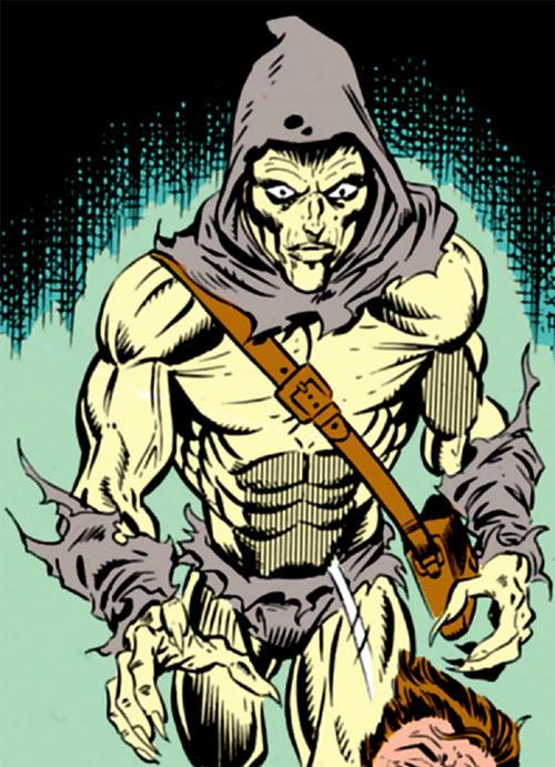 Carrion (Marvel Comics) murders a man