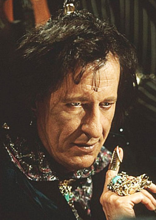 Casanova Frankenstein (Geoffrey Rush in Mystery Men)