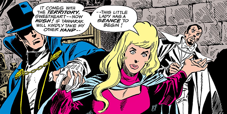 Cassandra Craft, Phantom Stranger, Tannarak (DC Comics)
