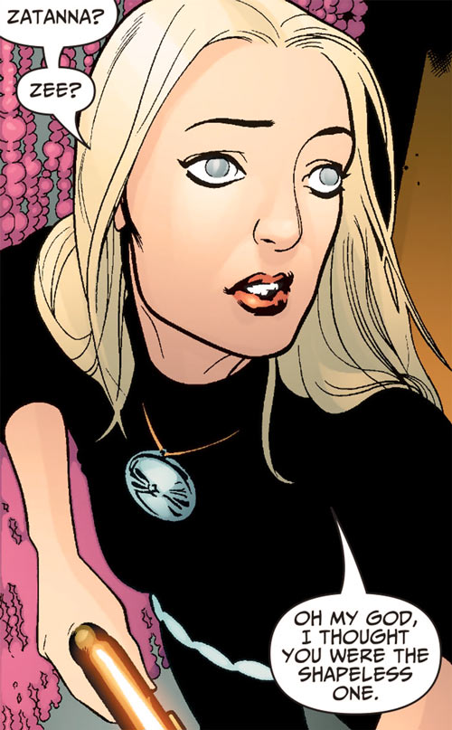 Cassandra Craft (7 Soldiers character) (DC Comics) dressed in black