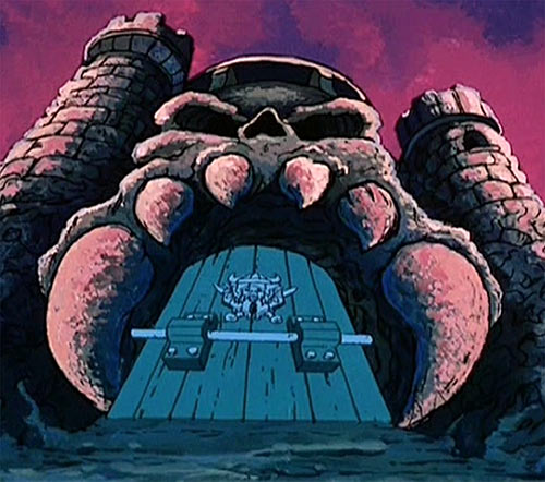 Castle Grayskull (He-Man and the Masters of the Universe) entrance gate