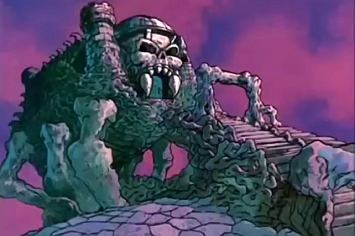 Castle Grayskull (He-Man and the Masters of the Universe) legs