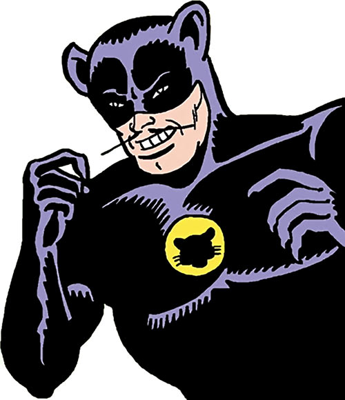 Cat King (DC Comics) (Batman / Catwoman) closeup moustache