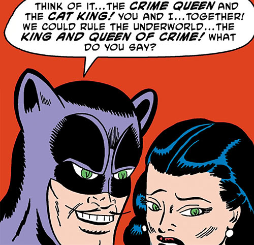 Cat King (DC Comics) (Batman / Catwoman) with Selina Kyle