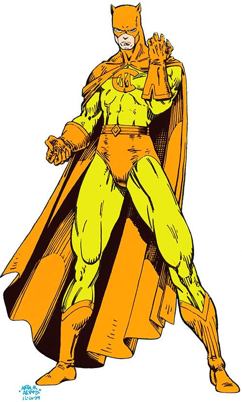 Cat-Man (DC Comics (Arthur Adams art) Who's Who