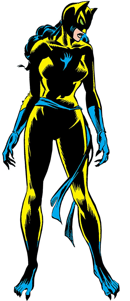The Cat (Greer Nelson) (Marvel Comics)