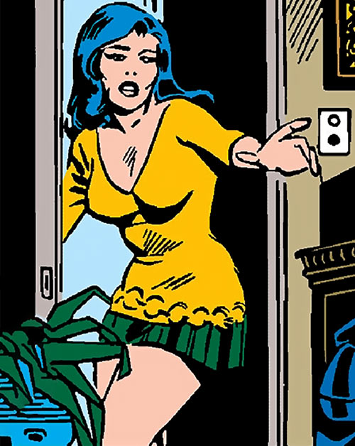 The Cat (Greer Nelson) (Marvel Comics) in her vintage civvies