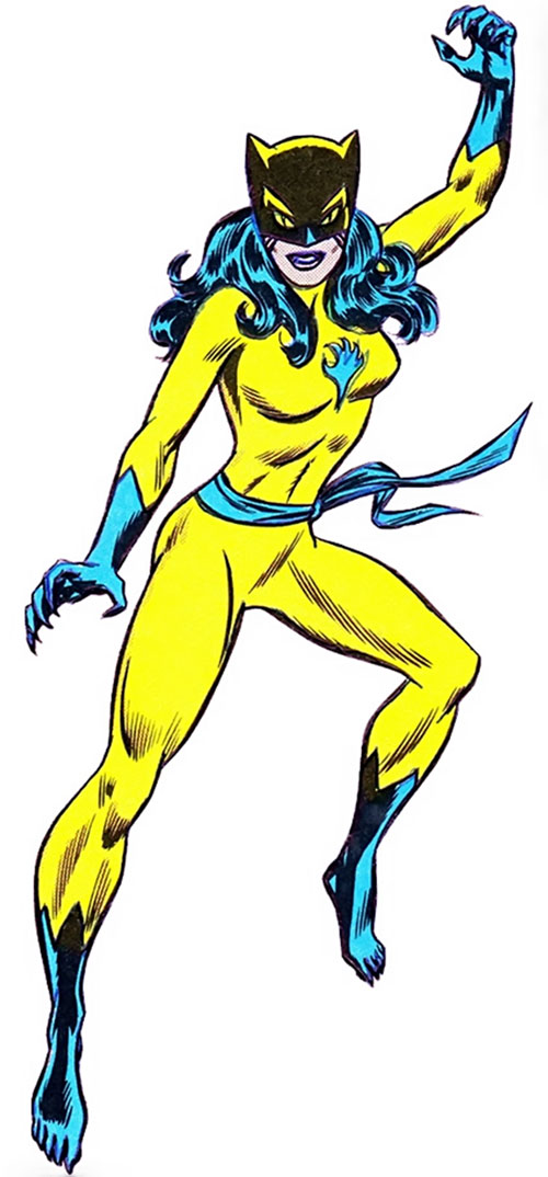 The Cat (Greer Nelson) (Marvel Comics) promotional art