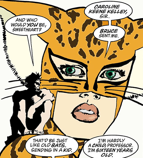 Catgirl (Dark Knight Strikes Again) (DC Comics) and the Atom
