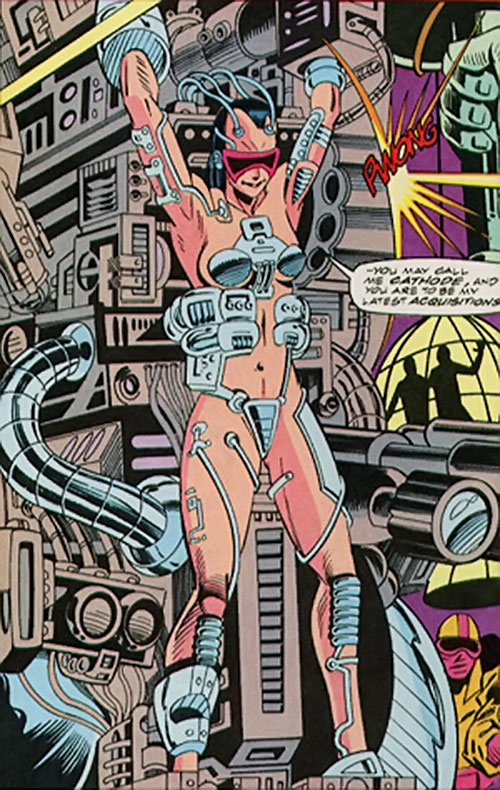 Cathode (Silver Sable enemy) (Marvel Comics)