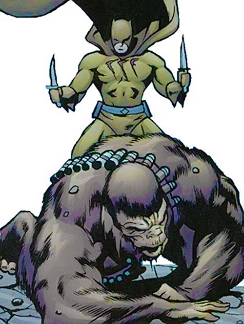 Catman of the Secret 6 (DC Comics) vs. Monsieur Mallah