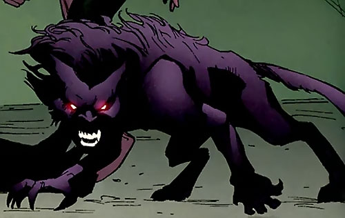 Catseye of the Hellions (Marvel Comics) as a transmode revenant
