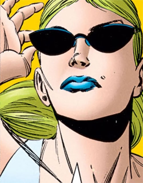 Catwalk (Skrull Kill Krew) face closeup with shades