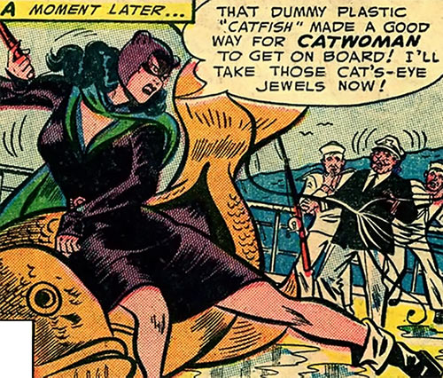 1950s Catwoman (DC Comics) (Batman) fake catfish