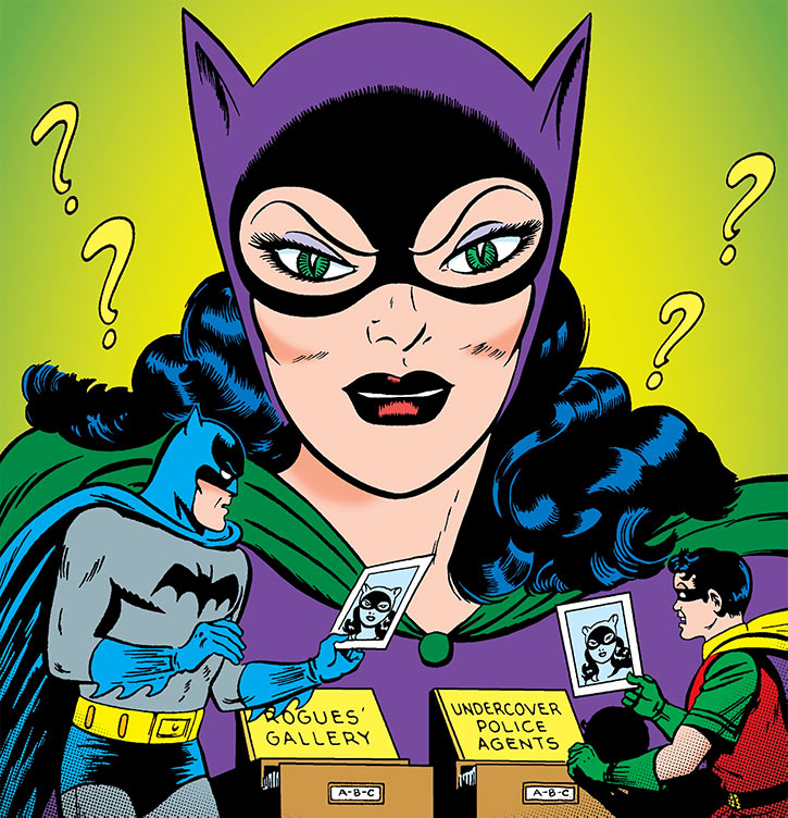 1950s Catwoman (DC Comics) (Batman) famous cover
