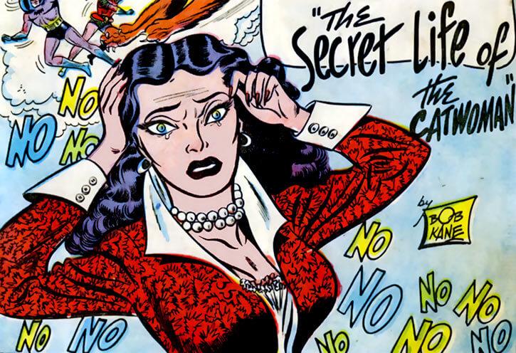 1950s Catwoman (DC Comics) (Batman) secret life of catwoman