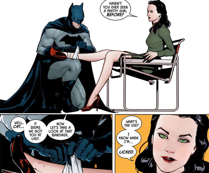 Catwoman (DC Comics) 1940 appearance redone 2017