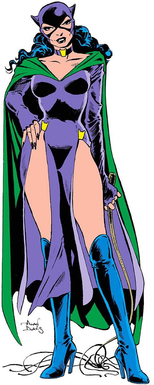 Catwoman (DC Comics) 1980s look by Alan Davis in the Who's Who