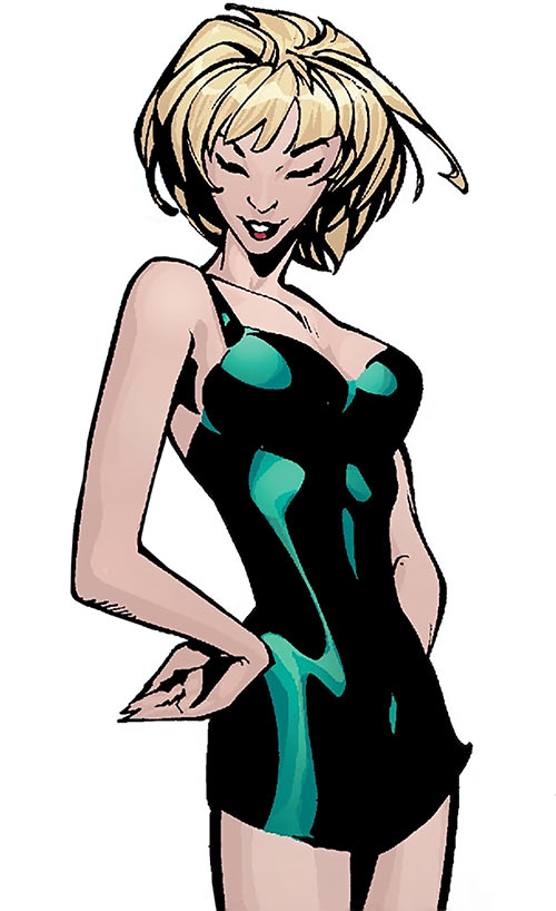 Catwoman (Imagine Stan Lee version) in her civvies