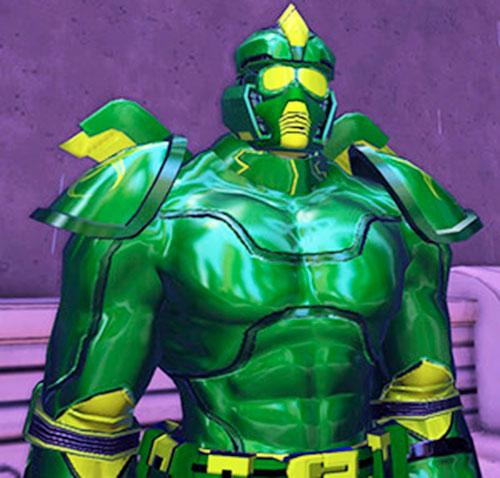 Caustic Green Menace (DC Heroes RPG) closeup