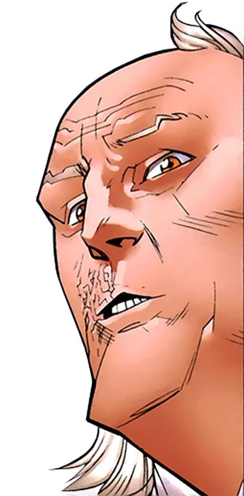 Cecil Stedman (Invincible Comics) face closeup