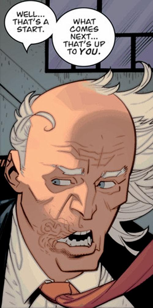 Cecil Stedman (Invincible Comics) talking