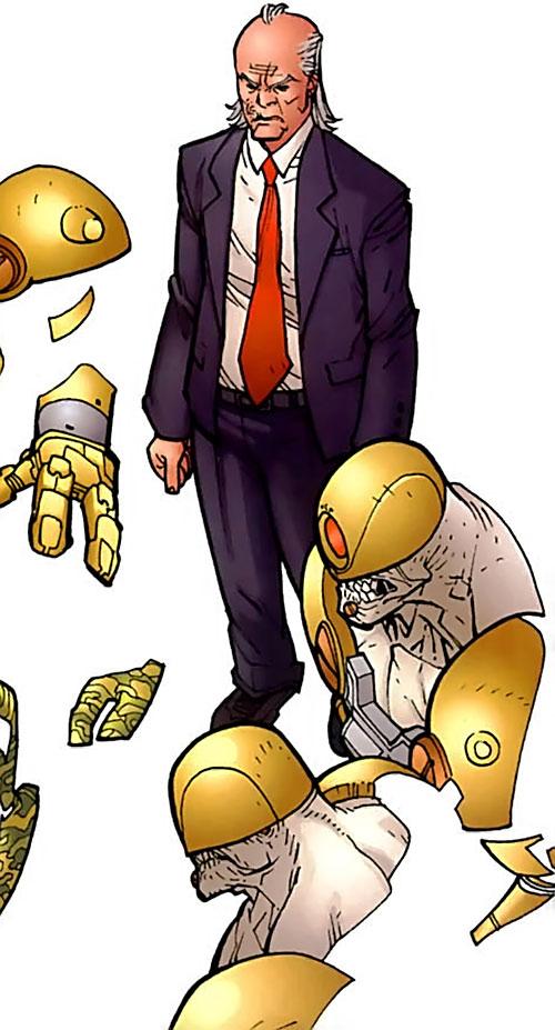 Cecil Stedman - Invincible Comics - Global Defense Agency ...