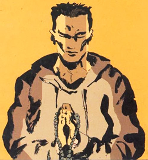 Cedric (Fight for Tomorrow) (DC Comics) praying