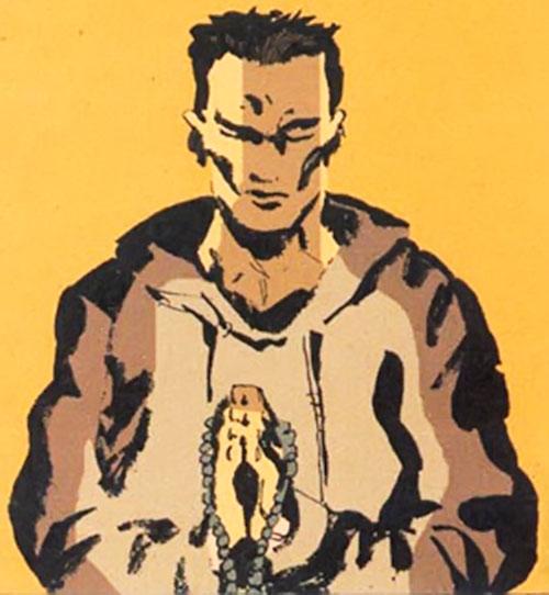 Cedric (Fight for Tomorrow) (DC Comics) praying