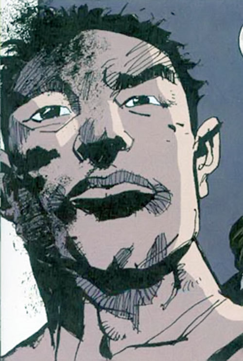 Cedric (Fight for Tomorrow) (DC Comics) face closeup